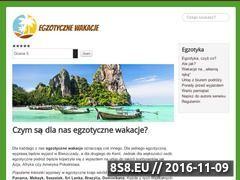 Miniaturka domeny www.egzotycznie.com.pl