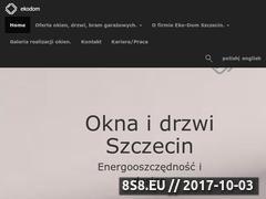 Miniaturka domeny eko-dom.szczecin.pl