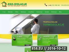 Miniaturka eko-izolacje.pl (Ocieplanie i izolacje termiczne budynków)
