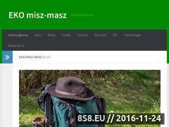 Miniaturka eko-miszmasz.pl (Eko Miszmasz - ekologiczny blog)