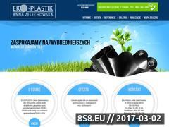 Miniaturka domeny www.eko-plastik.pl