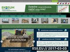 Miniaturka domeny eko-sum.pl