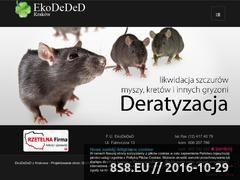 Miniaturka domeny www.ekodeded.pl