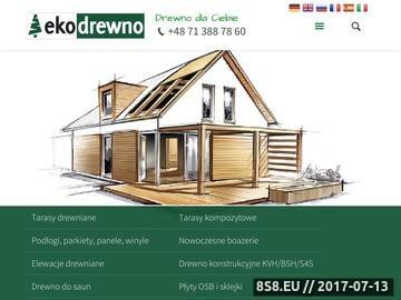 Zrzut strony EKO DREWNO drewno do sauny