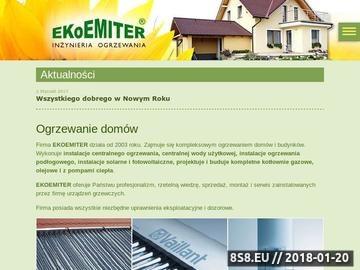 Zrzut strony EKOEMITER-Kolektory słoneczne,pompy ciepła