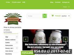 Miniaturka ekogram.pl (Sklep ze zdrową żywnością)
