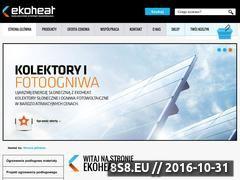 Miniaturka domeny ekoheat.com.pl