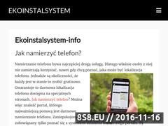 Miniaturka domeny ekoinstalsystem.pl