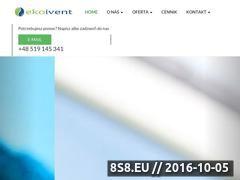 Miniaturka ekoivent.pl (Urządzenia do oczyszczania wody)