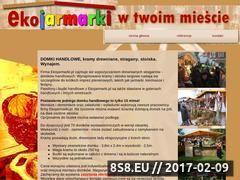 Miniaturka domeny www.ekojarmarki.pl