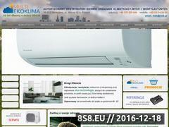 Miniaturka domeny www.ekoklima.pl
