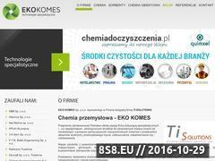 Miniaturka domeny www.ekokomes.pl