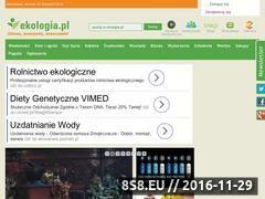 Miniaturka domeny www.ekologia.pl