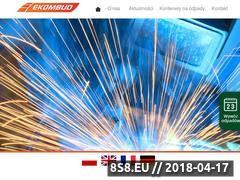 Miniaturka ekombud.pl (Kontenery otwarte)