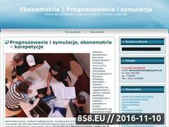 Miniaturka domeny www.ekonometria.4me.pl