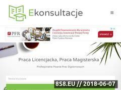 Miniaturka domeny ekonsultacje-online.pl