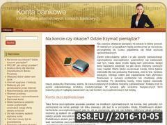 Miniaturka domeny www.ekontobankowe.com.pl