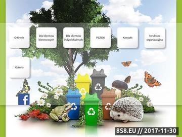 Zrzut strony EKOSKLAD segregacja śmieci