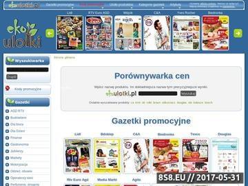 Zrzut strony Gazetki promocyjne Biedronka, Avans, Lidl, Decathlon, Media Markt, Tesco