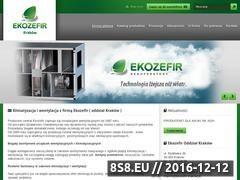 Miniaturka domeny www.ekozefir.krakow.pl
