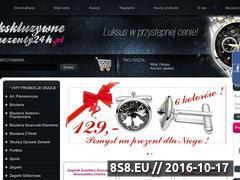 Miniaturka domeny www.ekskluzywneprezenty24h.pl