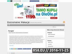 Miniaturka domeny ekstremalnewakacje.blog.pl