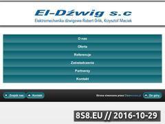 Miniaturka domeny el-dzwigsc.pl