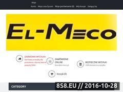 Miniaturka domeny www.el-meco.pl