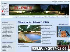 Miniaturka domeny www.el-prus.pl