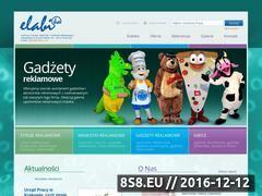 Miniaturka domeny www.elabi.com.pl