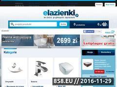 Miniaturka domeny www.elazienki.com