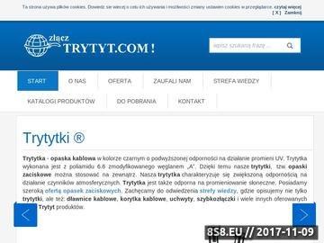 Zrzut strony Eldomek.pl - złączki kablowe, taśmy kablowe, dławice kablowe