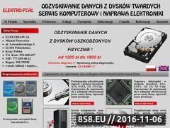 Miniaturka domeny www.elektro-pcal.pl
