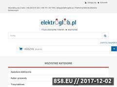 Miniaturka elektroglob.pl (Hurtownia elektryczna i salon oświetlenia)