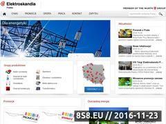 Miniaturka domeny www.elektroskandia.pl