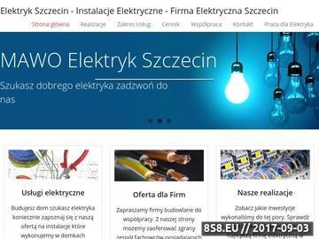 Zrzut strony MAWO Profesjonalne Instalacje Elektryczne