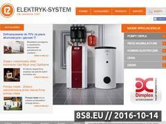 Miniaturka domeny www.elektryk-system.com.pl