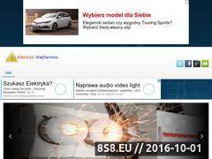 Miniaturka domeny www.elektryk-wejherowo.cba.pl