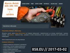 Miniaturka domeny www.elektryk.i-wawa.pl