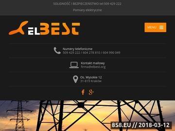 Zrzut strony Elektryk Kraków - solidność i bezpieczeństwo instalacje elektryczne teletech.
