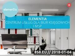 Miniaturka elementia.pl (Oprogramowane OCR do skanowania faktur)