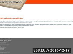Miniaturka domeny elementy-meblowe.eu