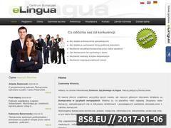 Miniaturka domeny www.elingua.com.pl