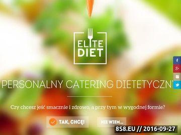 Zrzut strony Zdrowe jedzenie i catering