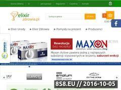 Miniaturka domeny elixirzdrowia.pl