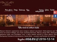 Miniaturka elko.elblag.pl (ELKO HOTEL - imprezy firmowe Elbląg)