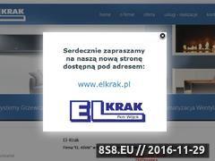 Miniaturka domeny www.elkrak.com.pl