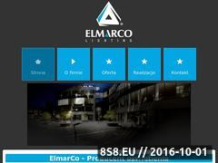 Miniaturka domeny www.elmarco.pl