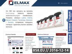 Miniaturka domeny www.elmax.pl