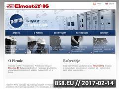 Miniaturka domeny www.elmontaz.com.pl